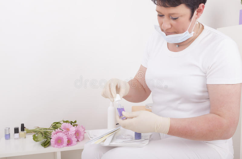 Download Podiatrist At Work Stock Photo - Image: 24778250