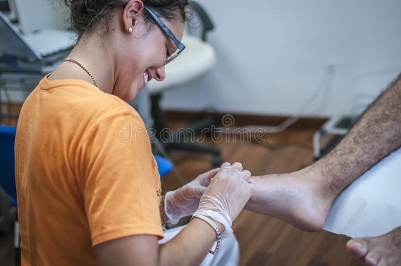 podiatry obrazy royalty free
