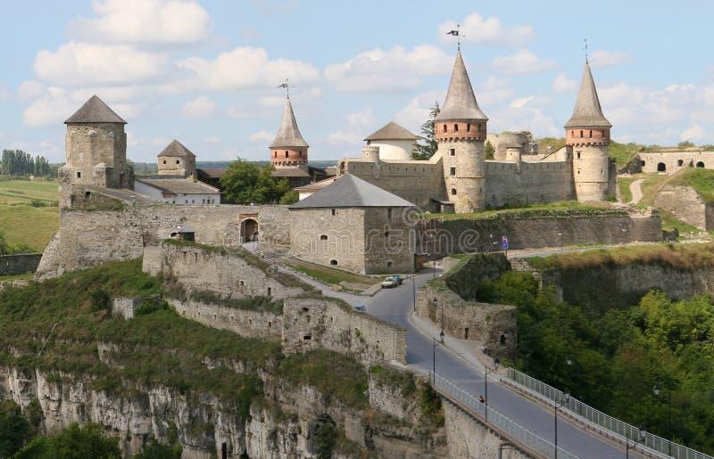 podilsky slottkamyanets royaltyfria bilder