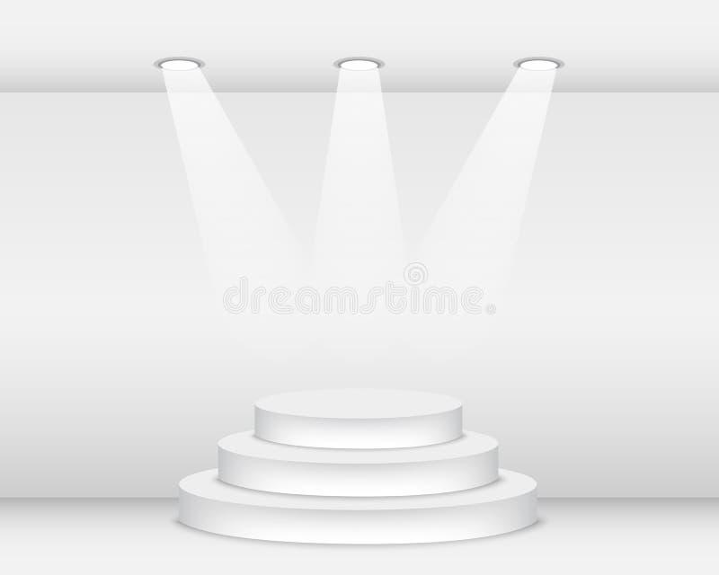 podium illustrazione di stock