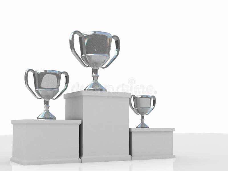Podium de los ganadores