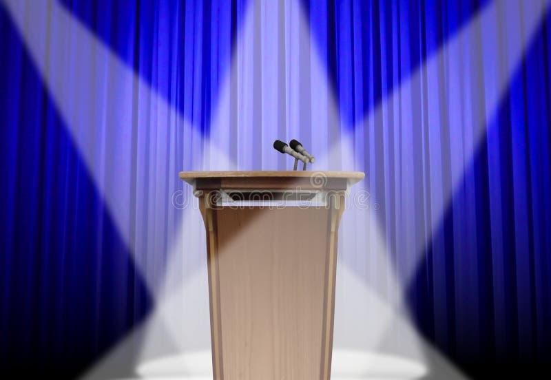 podium scena ilustracja wektor