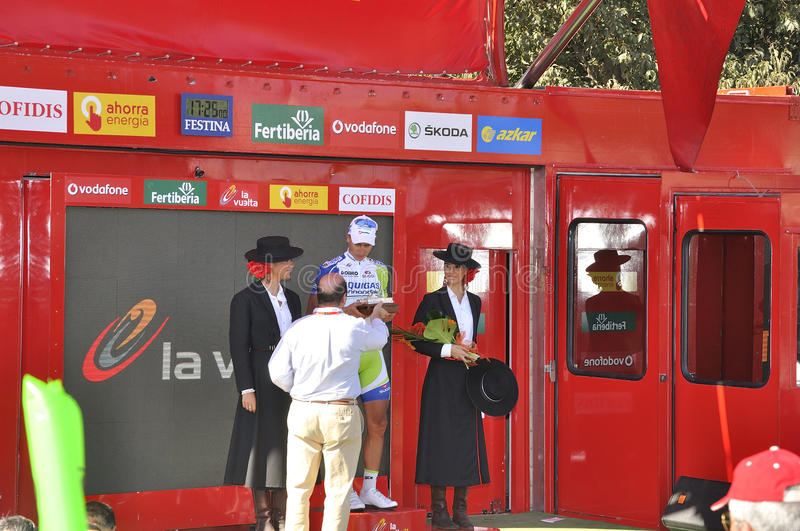 Download Podium Stage 6 Of The Tour Of Spain 2011 Editorial Photography - Image: 20929502