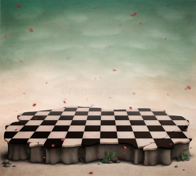 Podiume fabuleux, étape, plate-forme. illustration de vecteur