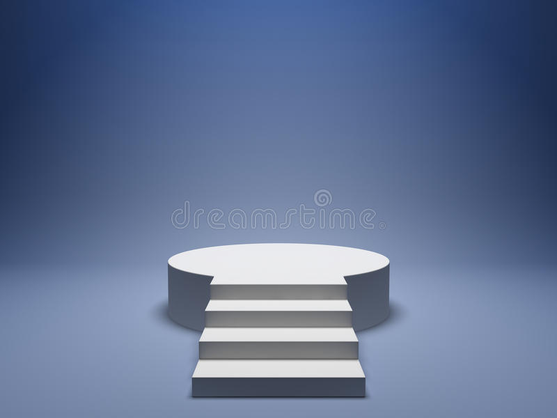 podiumvinnare stock illustrationer