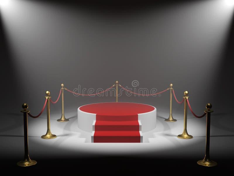 podiumvinnare vektor illustrationer