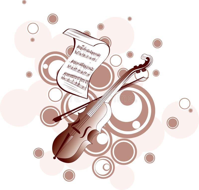 podkład muzyczny ilustracji