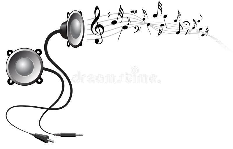 podkład muzyczny abstrakcyjne ilustracji