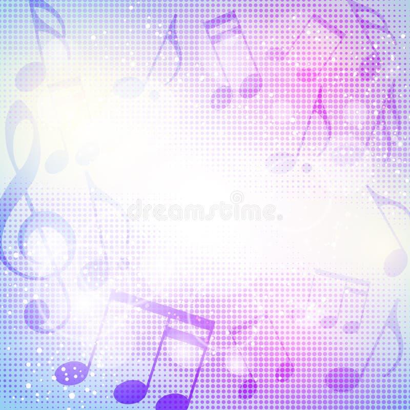 podkład muzyczny abstrakcyjne ilustracja wektor