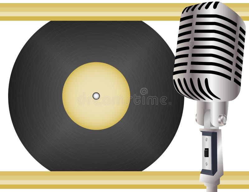podkład muzyczny retro royalty ilustracja