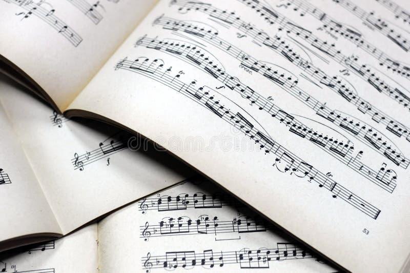 podkład muzyczny uwagi zdjęcie royalty free