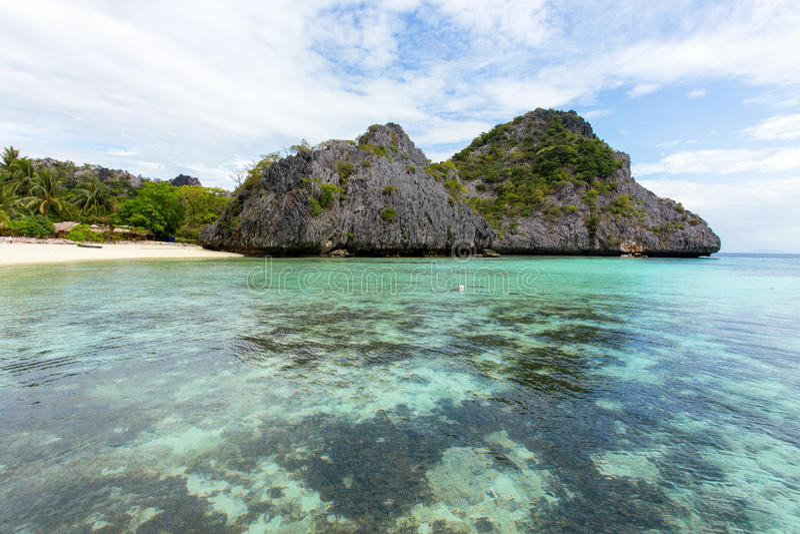 Podkowy wyspa zdjęcie stock
