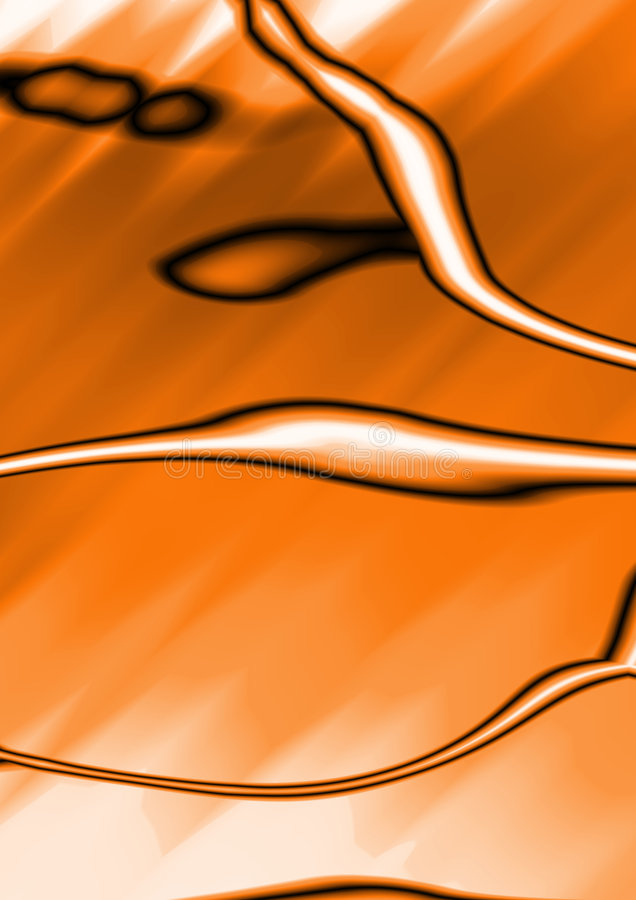 podkręć abstrakcyjne tła fantazji pomarańcze ilustracji