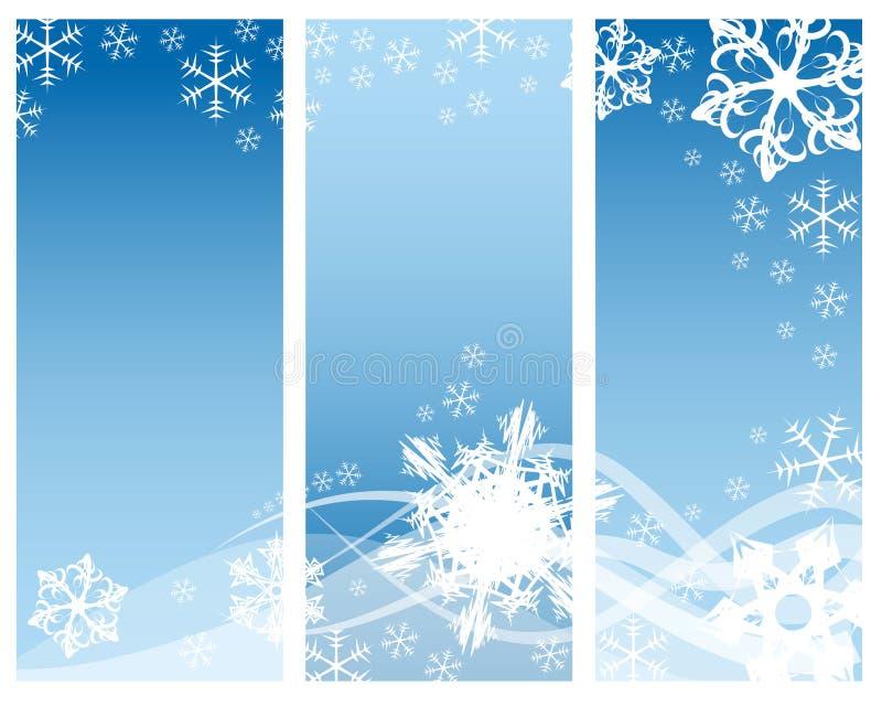 podkręć streszczenie płatki śniegu royalty ilustracja