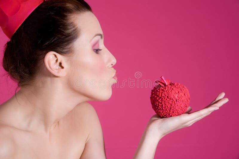 podmuchowy pocałunek obrazy stock