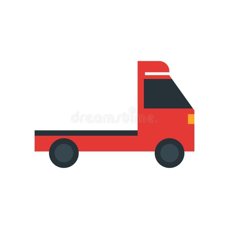 Podnosi w górę ciężarowego ikona wektoru znaka i symbol odizolowywający na białym tle, Podnosi w górę ciężarowego logo pojęcia ilustracji
