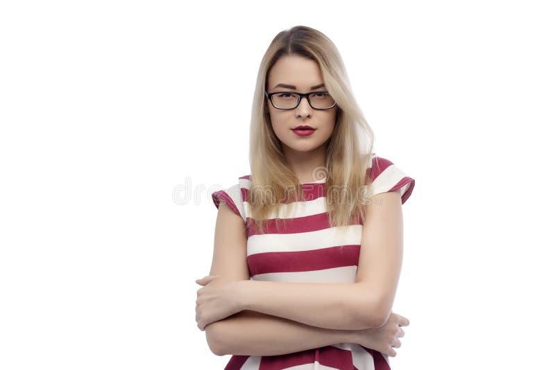 Podołka portret młoda, piękna kobieta, Temat wakacje, turystyka i lato, odziewa zdjęcia royalty free