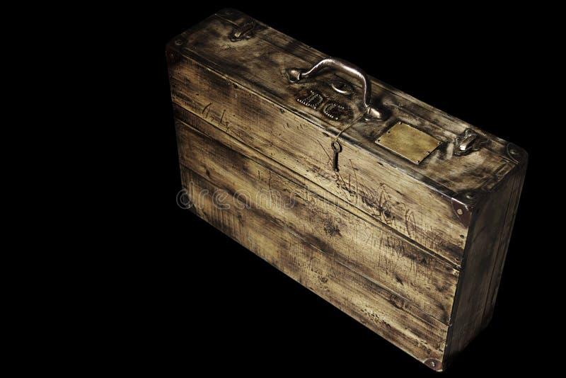 podobieństwo ścinku walizki ścieżki pojedynczy roczne obraz stock