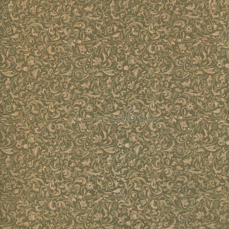 podpórki kwiecisty rozkwitający papierowy tekstury rocznik obraz royalty free