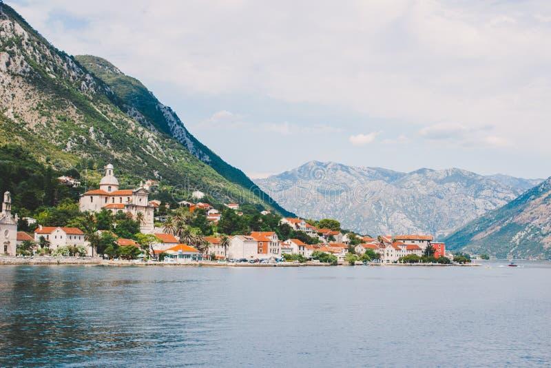 podpalany kotor Montenegro obraz stock