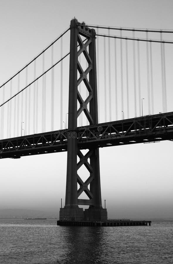podpalany most zdjęcia stock