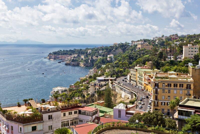 Podpalany Naples zdjęcia stock