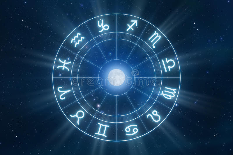 podpisuje zodiaka ilustracji