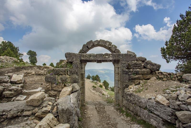 Podróży pojęcia fotografia Adana Gulka dziejowy kasztel fotografia royalty free