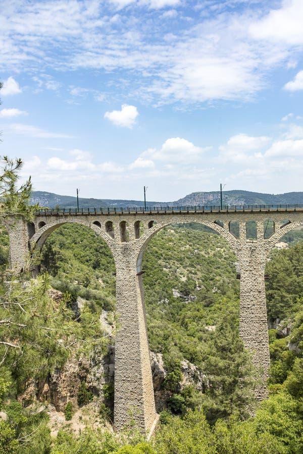 Podróży pojęcia fotografia Indyczy Adana Varda most zdjęcia royalty free