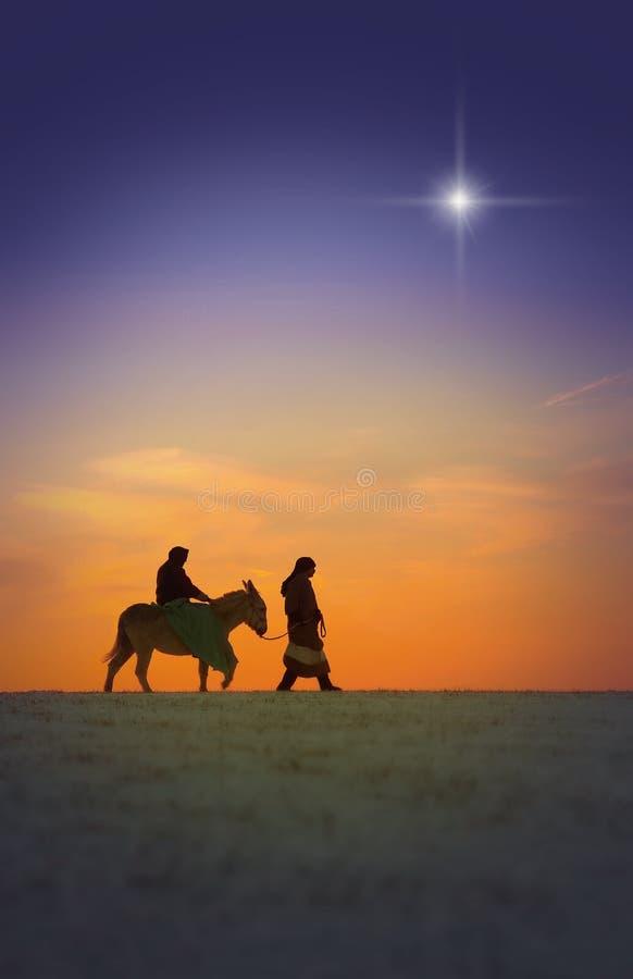 podróż świąteczną zdjęcie stock