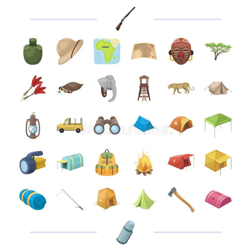 Podróż, biznes, turystyka i inna sieci ikona w kreskówce, projektujemy ilustracja wektor