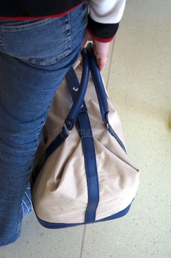 podróż do torby zdjęcie royalty free