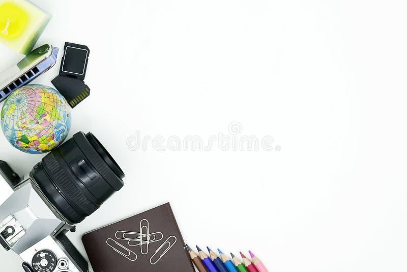 Podróż dookoła świata, kamera obraz royalty free