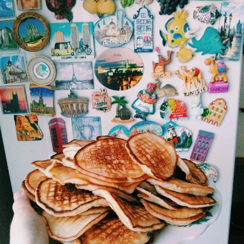 Podróż, jedzenie obraz royalty free