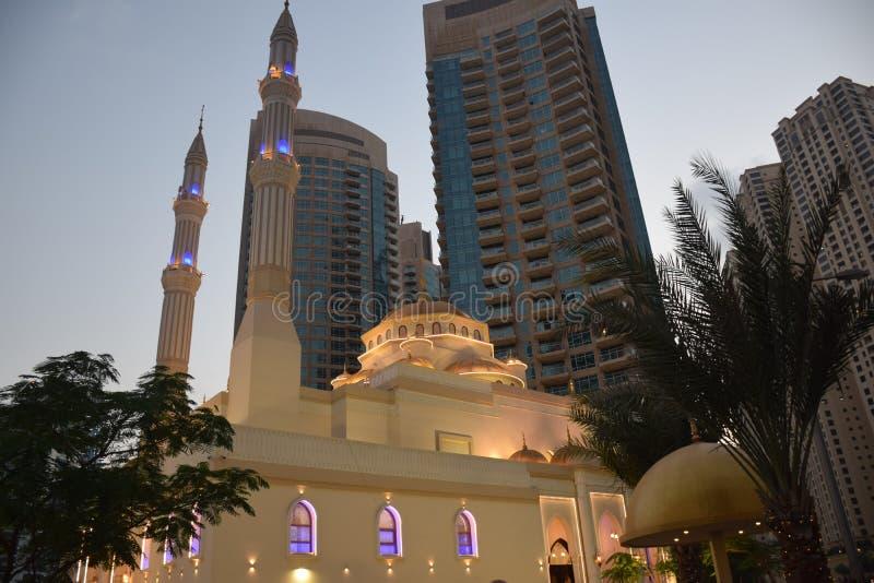 Podróż nieprawdopodobny Dubaj, Zjednoczone Emiraty Arabskie obraz stock