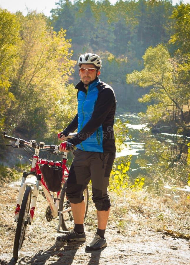 Podróż rowerem zdjęcia stock