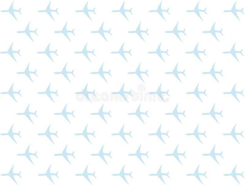 Podróż symbolu ikony elementu aqua samolotowego płaskiego bławego udziału projekta ustalona baza na białym tle ilustracja wektor