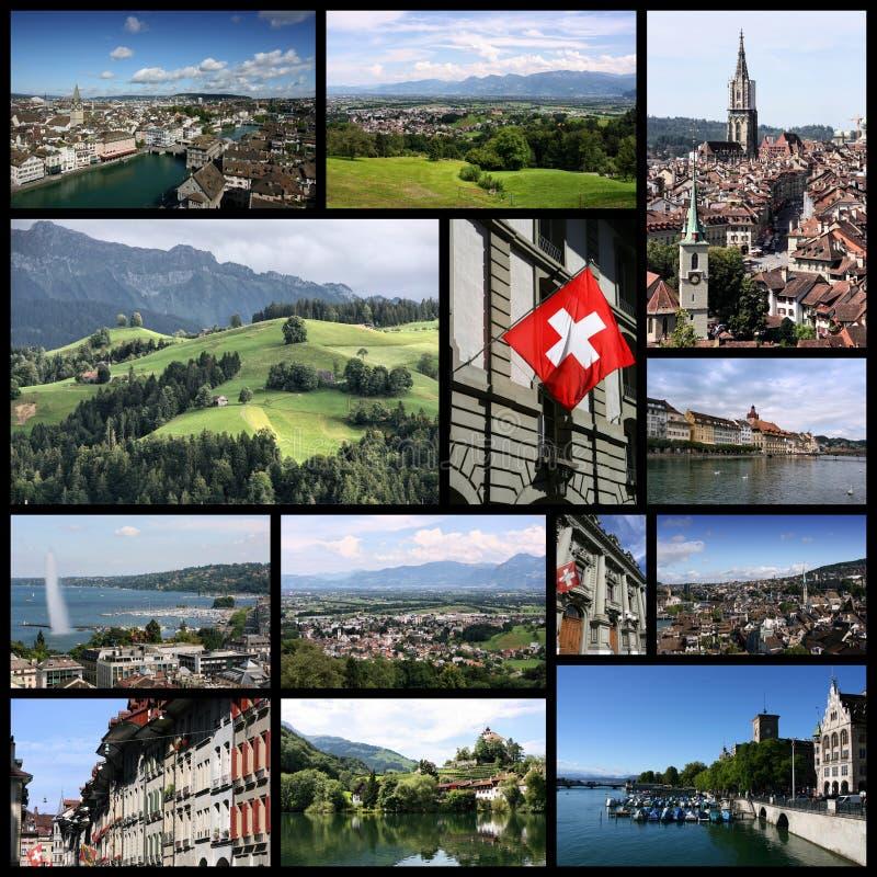Podróż Szwajcaria obraz royalty free