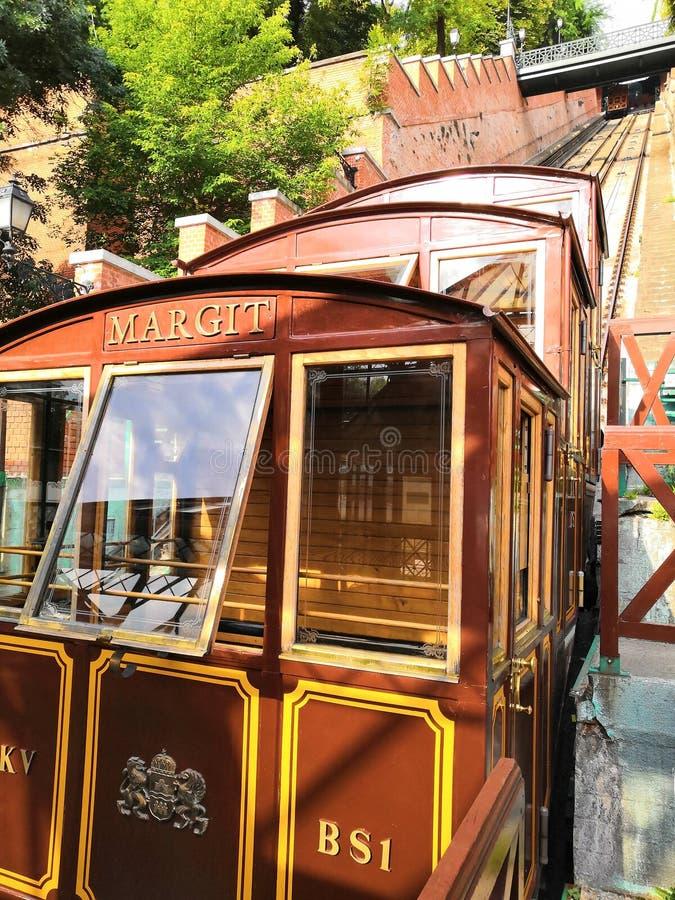 PODRÓŻ transportu pociągu winda BUDAPEST miasta świat zdjęcia stock