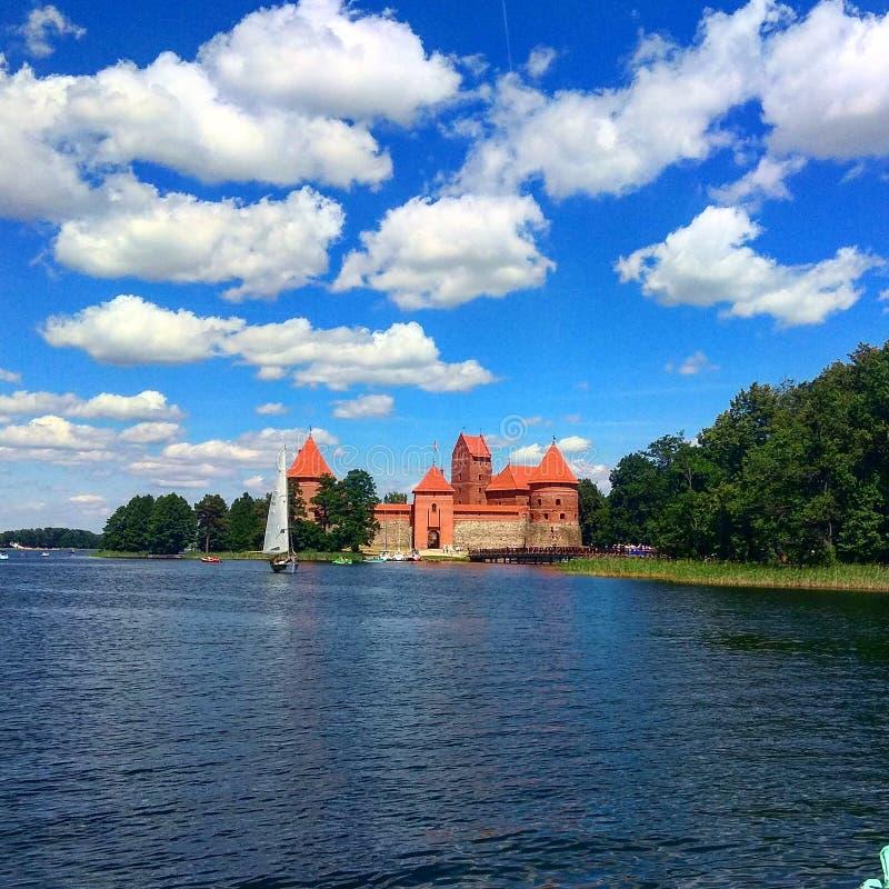 Podróż w Trakai zdjęcia royalty free