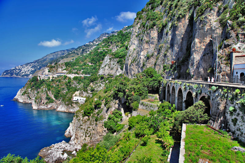 Podróż w Włochy seriach - Prayano obraz royalty free