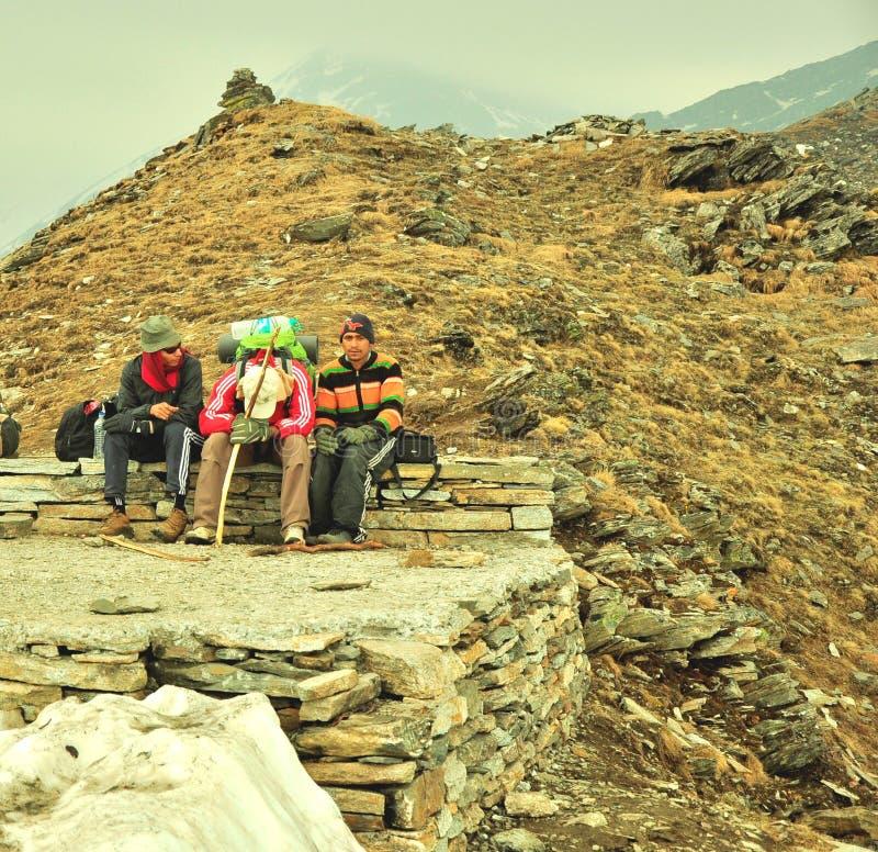 Podróżników Odpoczywać Zdjęcie Editorial