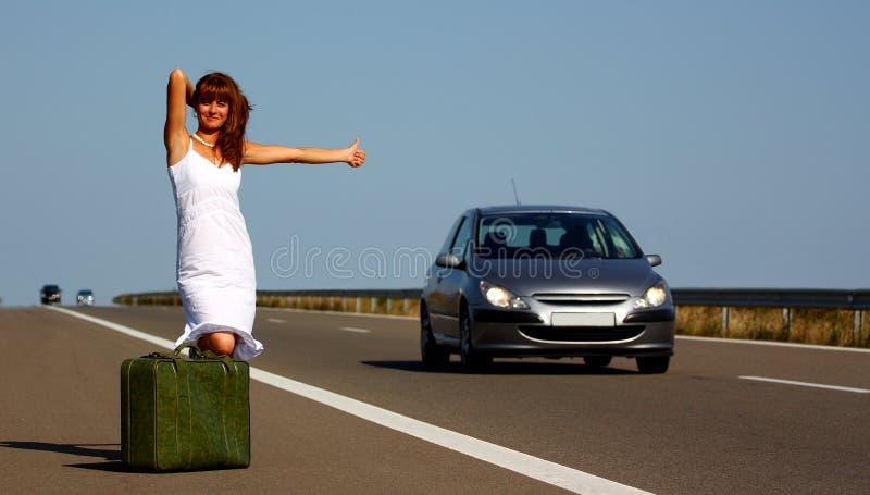 podróżnik kobieta obraz stock