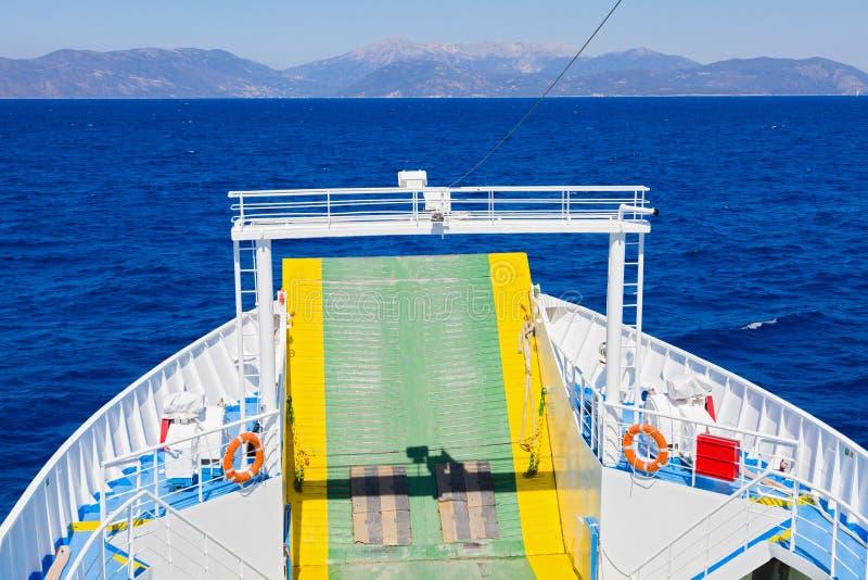 Podróżny ferryboat obraz royalty free
