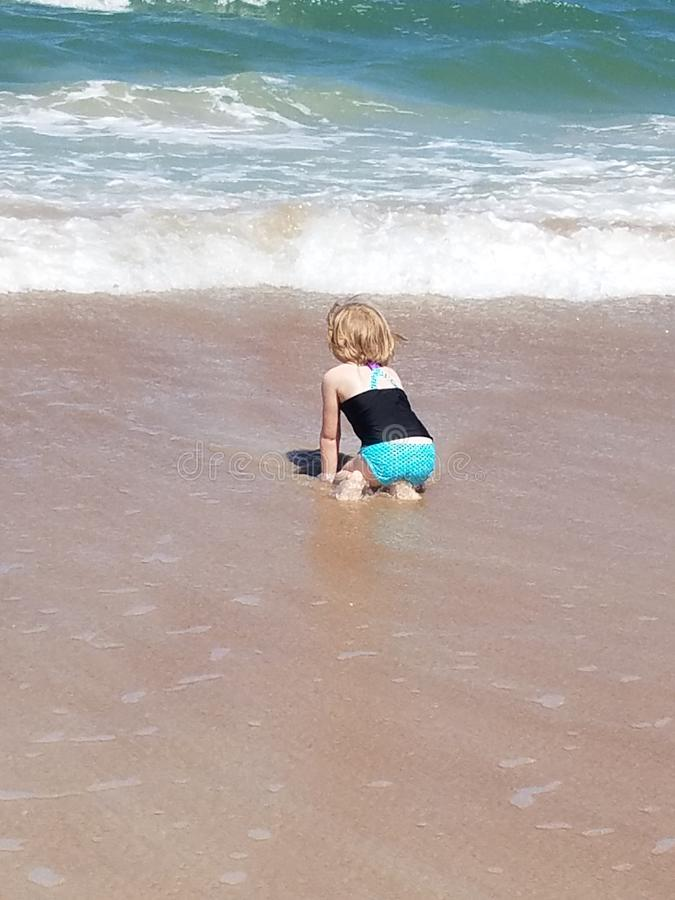 Podróżować Beachscape Floryda fotografia stock