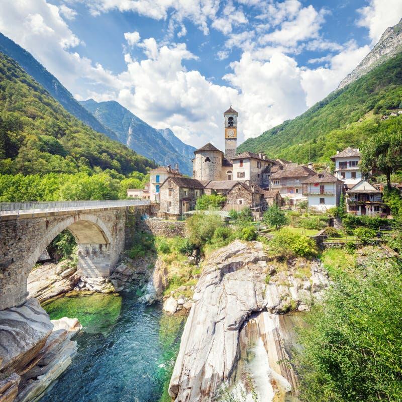 Podróżować piękny Szwajcaria w lecie obrazy stock
