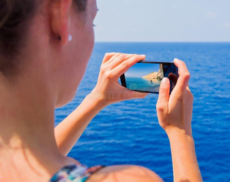 Podróżować przez morzy i oceanów zdjęcia stock
