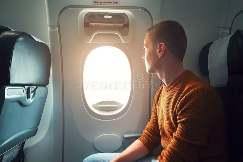 Podróżować samolotem obraz royalty free
