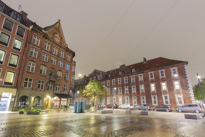 Podróżować w sławnym Kopenhaga zdjęcia stock