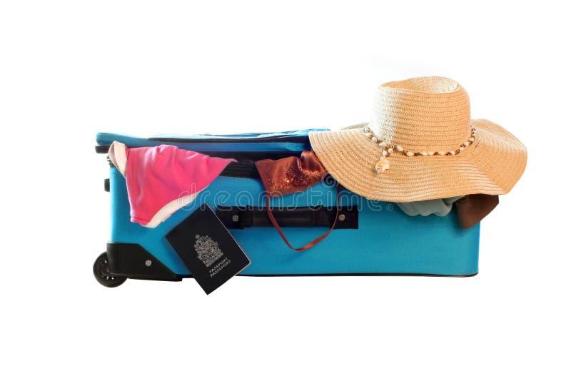 podróżowanie walizki zdjęcie stock